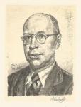 Švabinský Max, litografie, Sergej Prokofjev