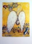Chagall Marc, zinkografie, Bílý anděl