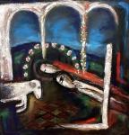 Jíra Josef, olej na plátně, Píseň písní