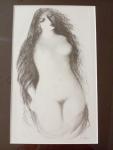 Jiřincová Ludmila, Dívčí akt, litografie