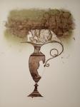 Suchánek Vladimír, Nostalgická váza, litografie