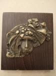 Zeman Bořek, Příroda, reliéf bronz