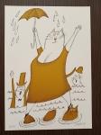 Born Adolf, Léto pro kočku, serigrafie