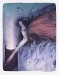Suchánek Vladimír, Upoutaný Prometheus, barevná litografie