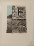 Velčovský Josef, litografie, Domek u jezera (Finsko)